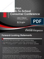 Barclays Back to School Consumer Conference
