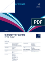 University of Oxford Style Guide