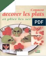 Jean-Pierre Devigon - Comment Decorer Vos Plats Et Plier Les Serviettes - 1996