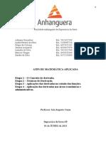ATPS Matemática Etapas 01 e 02 08.04.2014