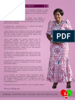 Press Statement on First Lady's Beautify Malawi Trust