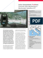 Concrete Dam Monitoring in Montereale Valcellina TRU En