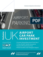 Airport Car Park Brochure