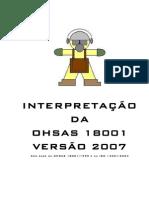 Interpretação OHSAS 18001 2007 Comentada