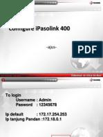 Configure IPasolink400