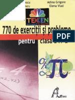 770 de Exercitii Si Probleme - Clasa a IV-A