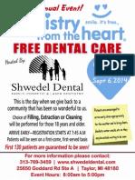 Shwedel Dental Dentistry From the Heart 9-6-14