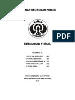 Kelompok 5_Kebijakan Fiskal