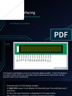 LCD Interfacing of