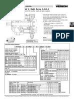 Bomba de Pistoes Axiais de Vazao Variavel LY A10VO Serie 3.0 3.1