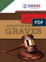 USAID Manual Proccedimientos Para Delitos Menos Graves, Armado