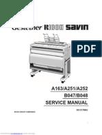 Ricoh FW780 Service Manual
