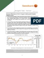PMI - Services, August 2014