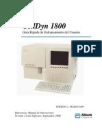 Guía Rapida de Usuario CD1800