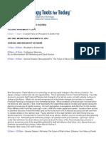 2014 T3 Enterprise Agenda