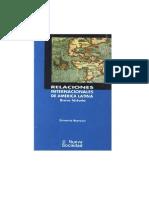 174845404 BOERSNER Demetrio Relaciones Internacionales de America Latina[1]