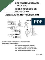 Metrologia Plan 2009