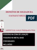 Defeitos de Soldadura 2007