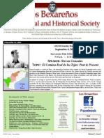 2014 09 - September LBGHS Newsletter