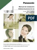 Installation Manual-ES TVM