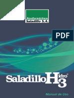 Industrias Saladillo Manual de uso 2012