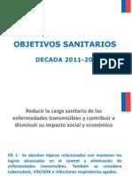 m(2) 5-Objetivos Sanitarios 2011-2020