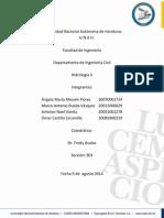 Informe de Hidrologia II