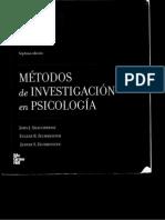 Metodo Cientifico, UNID 1, Metodos en Psicologia