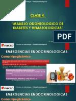 4. Clase - Emergencias - Manejo Diabetes y Hemorragicas