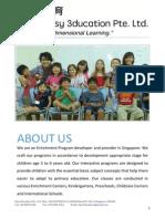 Enrichment Programs for Preschool