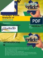 strategic brand analysis of Horlicks