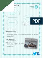 Informe de Comisión de Trabajo. Reunión 03/09/2014