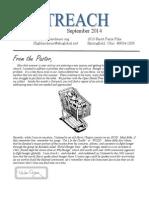 September 2014 Outreach