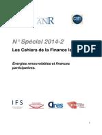 Les Cahiers de La Finance Islamique Numéro Spécial 2014-2 - Énergies Renouvelables Et Finances Participatives