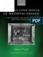 O'Neill - Courtly Love Songs of Medieval France