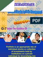 Presentation on Portfolio Mngt