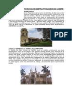 Monumento Histórico de Nuestra Provincia de Cañete