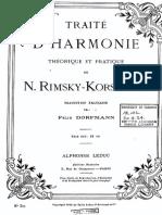 Rimsky - Traité d'Harmonie