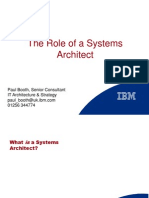 Who is a Sys Architect