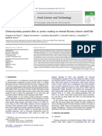Chitosan Whey Protein Film as Active Coating to Extend Ricotta Cheese