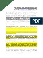Theory and Method of Social Representations -Trad.