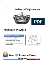 from absolutism to enlightenment mooney