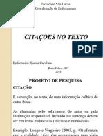 Citacoes No Texto