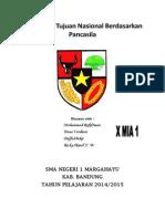 Cita-cita & Tujuan Nasional Berdasarkan Pancasila