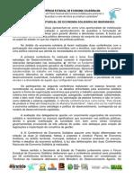 III Conferência Estadual de Economia Solidária No Maranhão