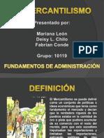 EXPOSICIÓN MERCANTILISMO