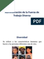 Administración Clase 15A Administración de La Fuerza de Trabajo Diversa