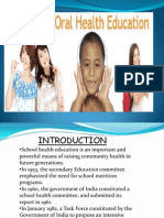 School Health Education