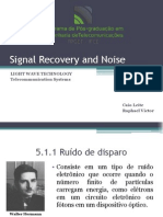Signal Recovery and Noise (1)