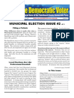 #8 Municipal Election Issue Small